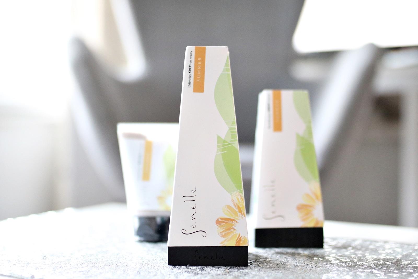 kosmetyki naturalne Senelle - odżywczy krem do twarzy