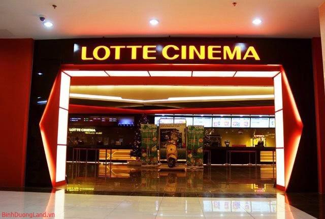Rạp chiếu phim Lotte Cinema Bình Dương