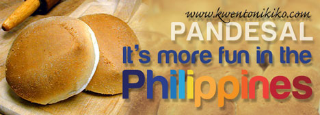 Pandesal - It's more fun in the Philippines