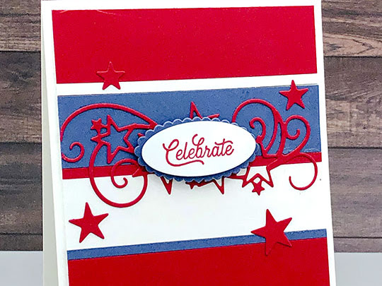 Celebrate Independence Day - Many Mates Stamp Set