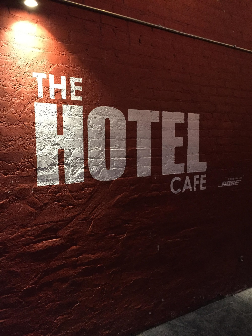 hotel cafe hollywood