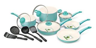 GreenLife Ceramic Non-Stick Cookware Set