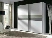 Two side door bedroom wardrobe idea