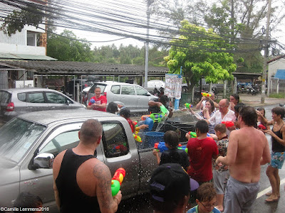 Songkran or Thai New Year is coming up 13th April