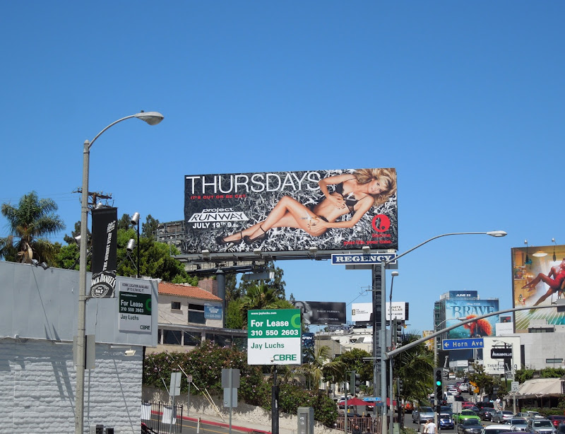 Project Runway season 10 billboard