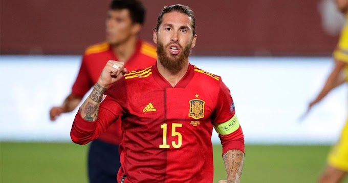 Real Madrid star Ramos now the highest-scoring defender in International football history