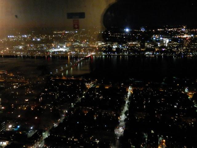 Boston vue de l'observatoire de la Prudential Tower