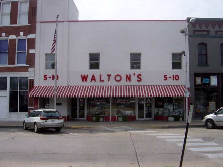 In 1945, businessman Sam Walton opened a low-price store to receive large sales with lower profits.