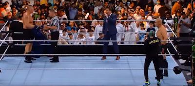 """مشاهدة ملخص """"عرض كراون جول 2019"""" في موسم الرياض مع نجوم  مصارعة WWE"""