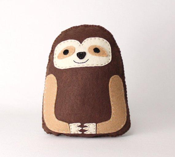 diy sloth pattern