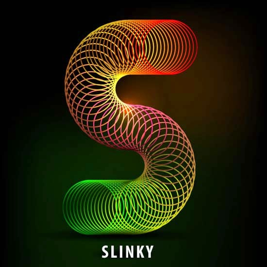 How to Create the Letter S in the Shape of a Slinky Toy