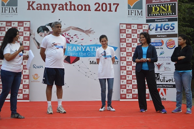 Kanyathon 2017: A run for women, attended by over 2500