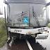 Ônibus que levava torcedores são-luizenses para assistir o Gre-Nal se envolve em acidente