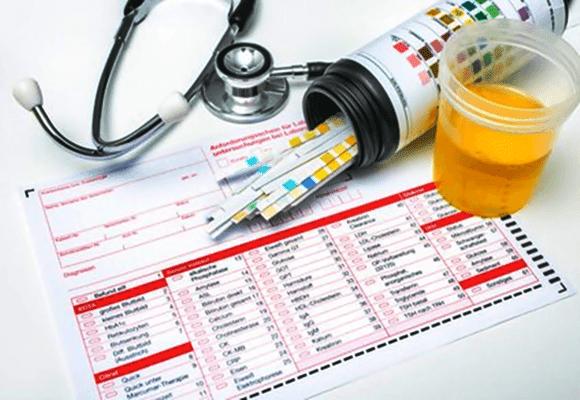 Diferença-coleta-urina