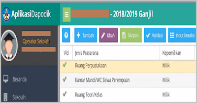 Cara Mengatasi Data Warning/ Invalid Dapodik 2019