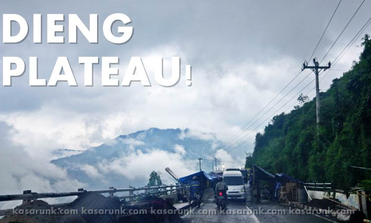 Road To  Dieng