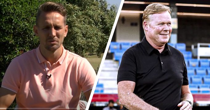 Luuk de Jong discuss Koeman's interest in him:  'He told me he wanted a forward with a new profile'