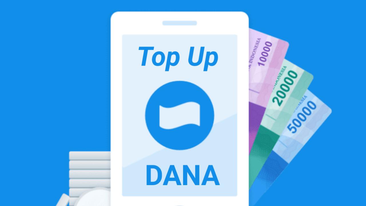 Cara isi saldo DANA via aplikasi dan akun Bukalapak