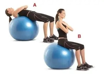 Are you on the ball? Some stability ball exercises to try