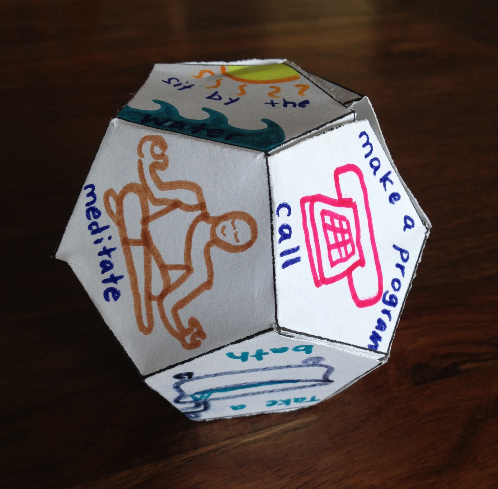 creative guide through the 12 steps 12 sided recovery dice