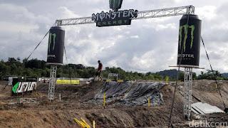 Ajang Indonesia MXGP akan besok....kembalinya ajang motocross internasional ke Indonesia