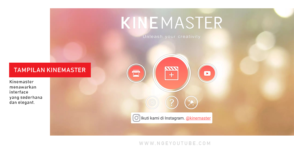 Aplikasi Editing Video KINEMASTER.