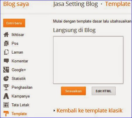 Cara membuat scroll di widged arsip blog