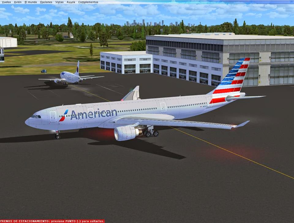 Fsx A330 200 American Airlines New Colors Blackbox