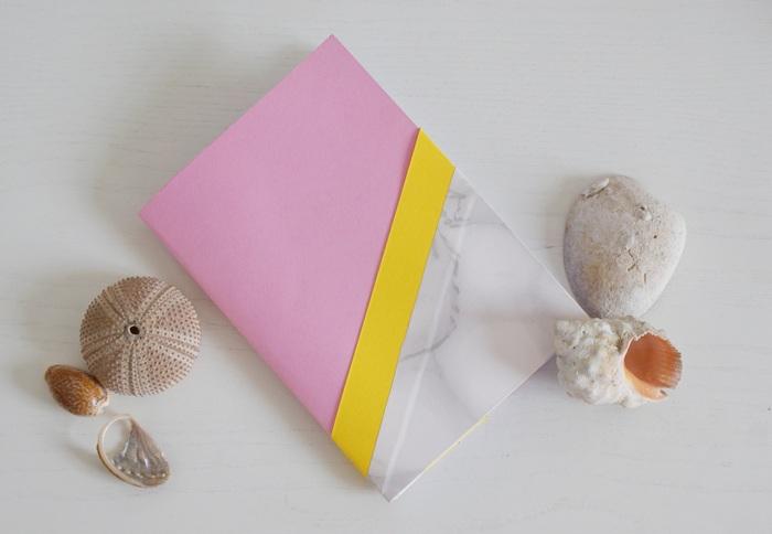 diy summer journal notebook paper
