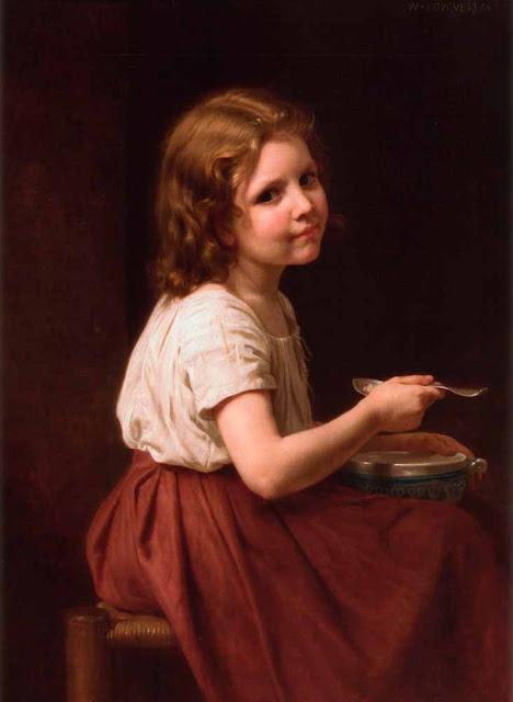 Адольф Вильям Бугро - Суп (1863)