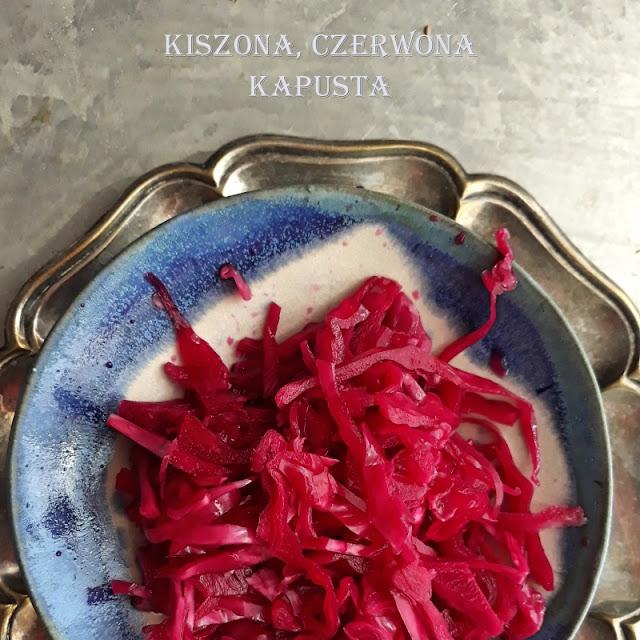 Kiszona czerwona kapusta - wersja uproszczona