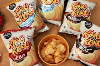 Harga Snack King Kong Keripik Singkong Terbaru 2016