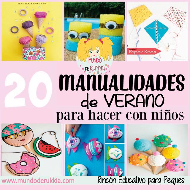 manualidaes-verano-niños
