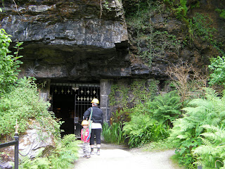 carnglaze caverns cornwall slate mine now bat cave and wedding venue
