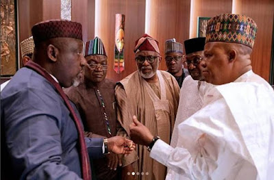 Tenure Elongation: Buhari, APC Govs' Meeting End In Deadlock