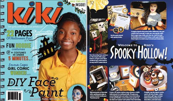 Halloween Party Ideas with Kiki Magazine - BirdsParty.com