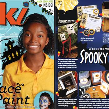 Halloween Party Ideas with Kiki Magazine