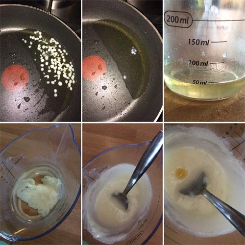 bijenwas met abrikozenpit olie voor bodycreme