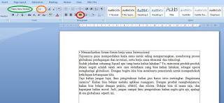 Copy Paste Teks Artikel ke Word