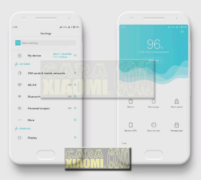 Download Link Tema MIUI V9 Theme Uxigers Mtz For Xiaomi Redmi