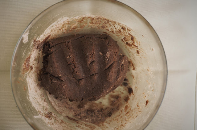 Make the alfajores dough