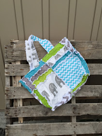 Elephant diaper bag by A Vision to Remember and Available at AVTRBoutique.com