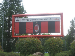 AC Milan train at the Milanello Sports Centre 40km northwest of the city