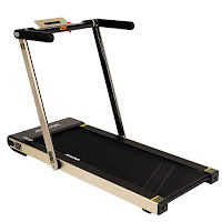 Sunny Health & Fitness Asuna Slim 8730G (Gold) Space Saving Motorized Treadmill, review features plus compare with 8730