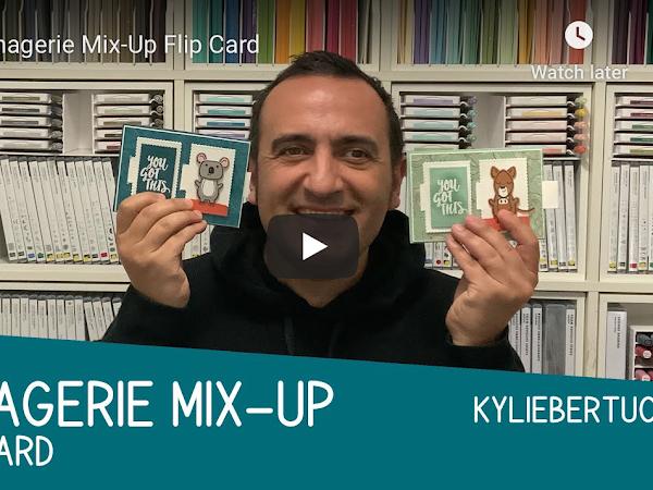 VIDEO: Bruno's Menagerie Mix-Up Flip Card
