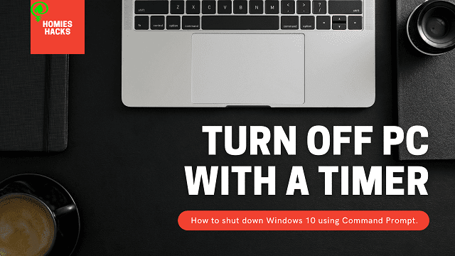 How To Turn Off Computer With A Timer