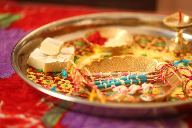 Happy Rakhi Thali Images