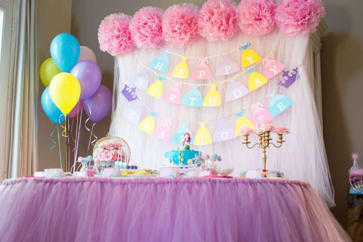 I Hopped On Pinterest And Started Researching Disney Princess Birthday Parties
