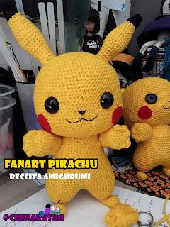 Receita Pokebola • Amigurumi Crochê Pokemon - EuroRoma | Receitas ... | 320x240