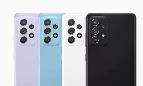 samsung a52 cameras
